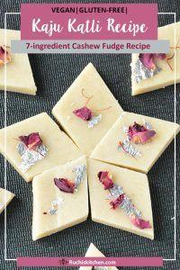 Kaju Katli Recipe Second Pinterest Pin