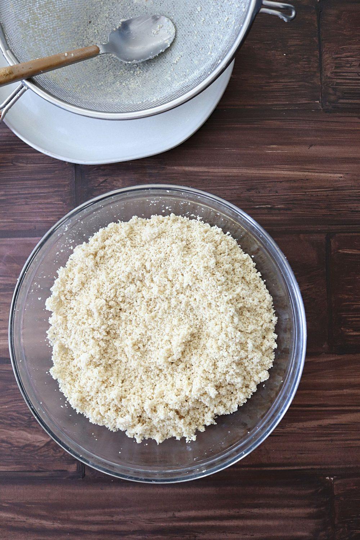 Kaju as fine flour