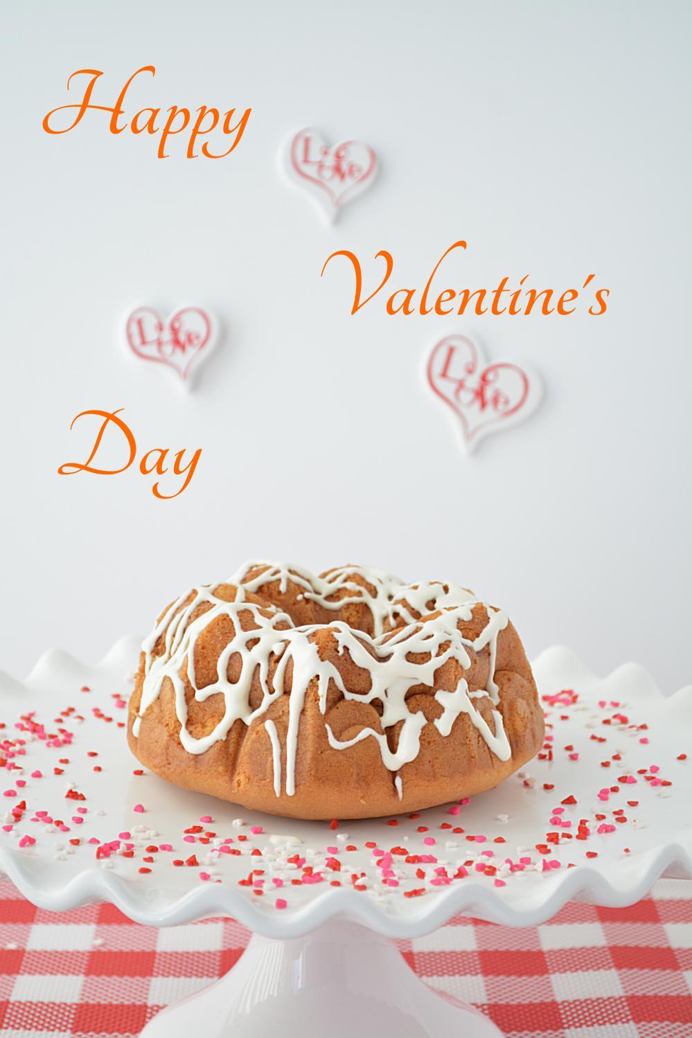 bundt pan valentine day