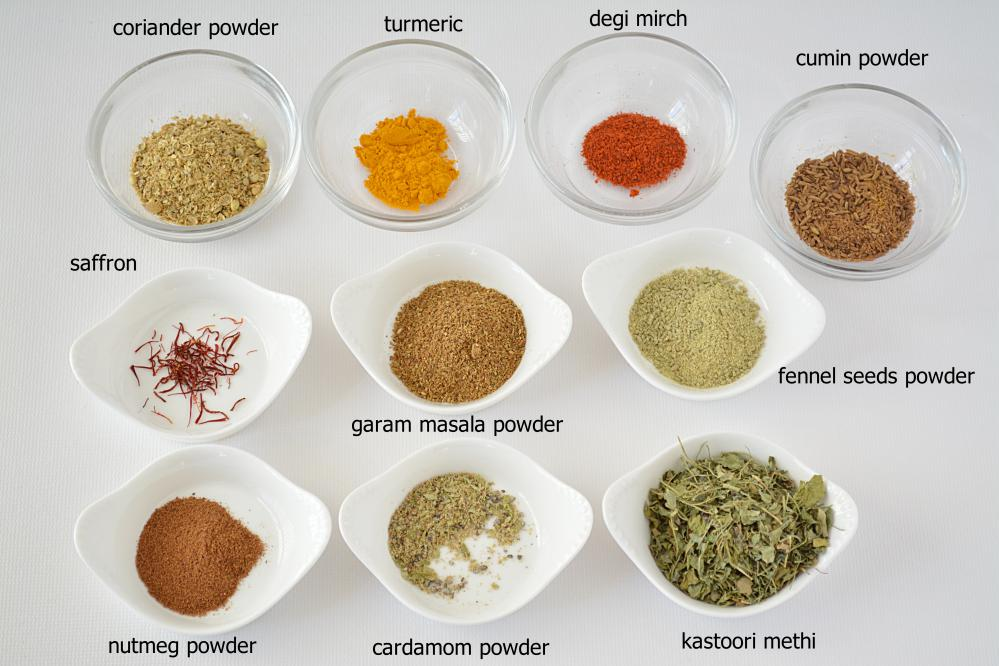 chicken-chaap spices