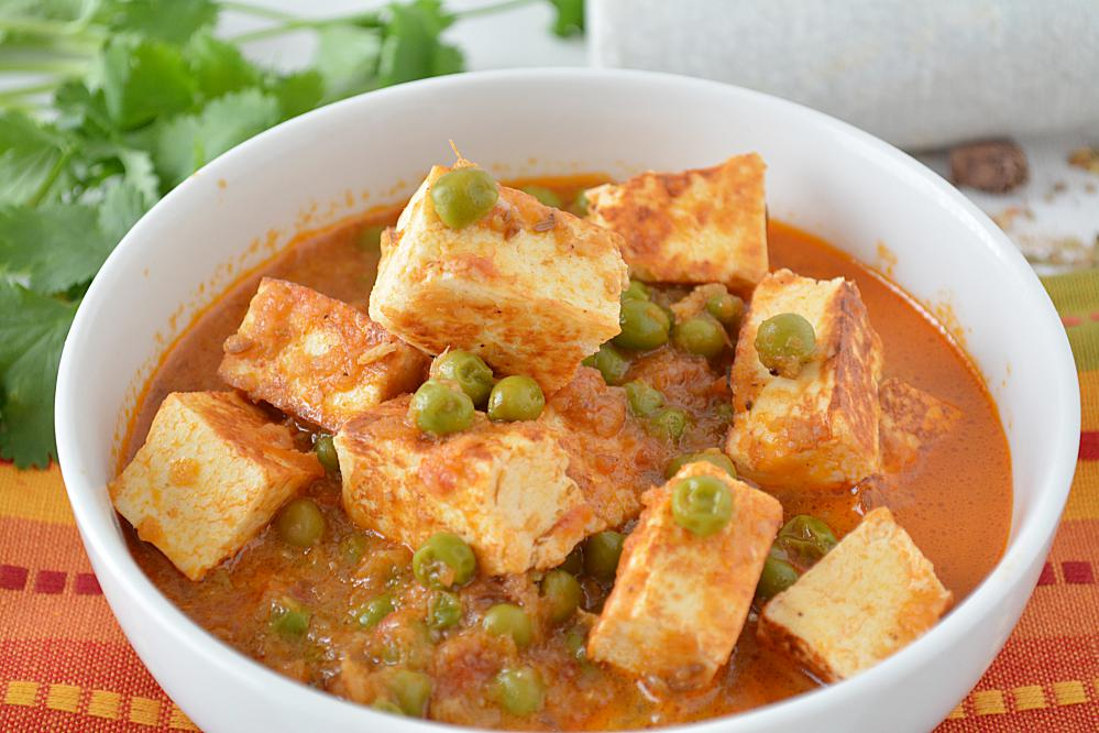 matar paneer or mutter paneer is a simple and commonly prepared north ...