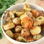 oven toasted potatoes