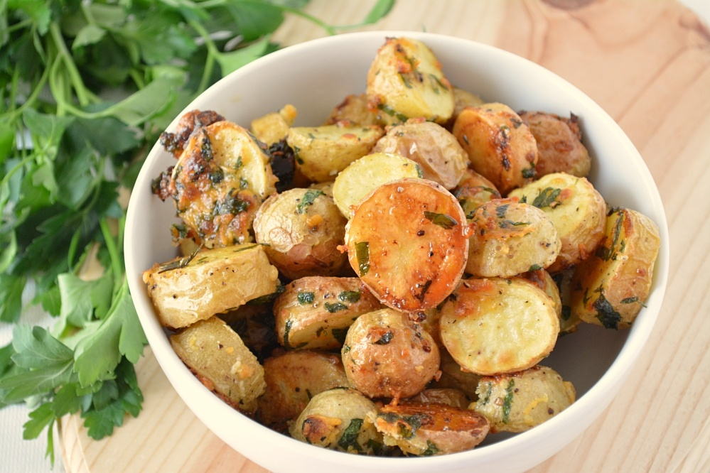 Oven-Roasted New Potatoes Recipe — Dishmaps