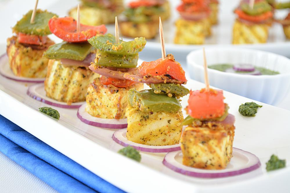 Paneer tikka without oven