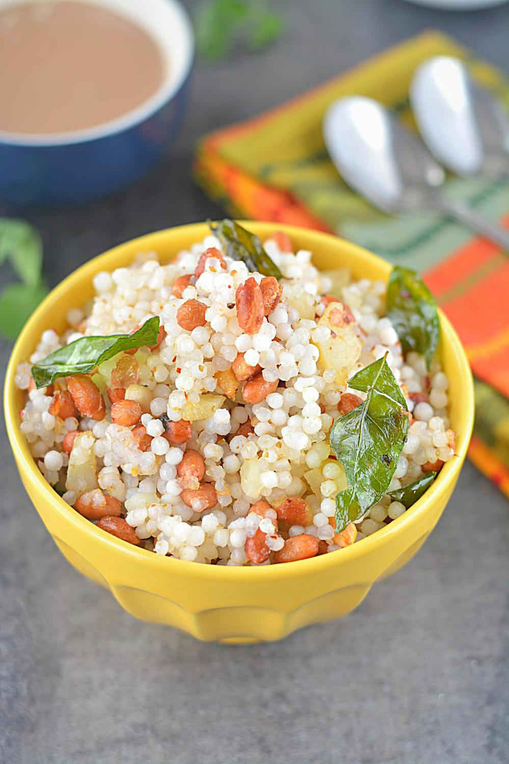 Tested and tried fluffy Sabudana khichdi