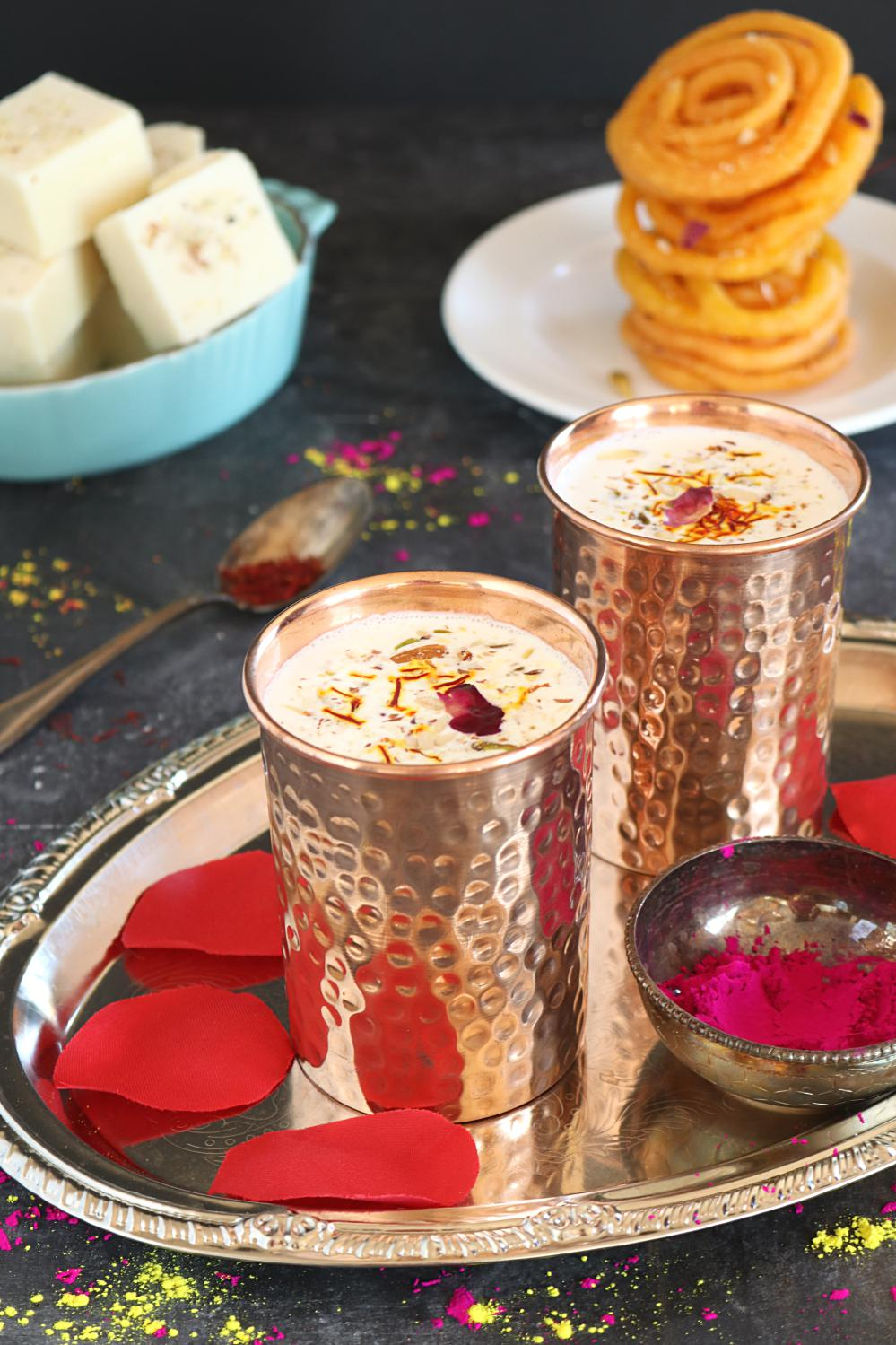 Thandai Recipe - Ruchiskitchen