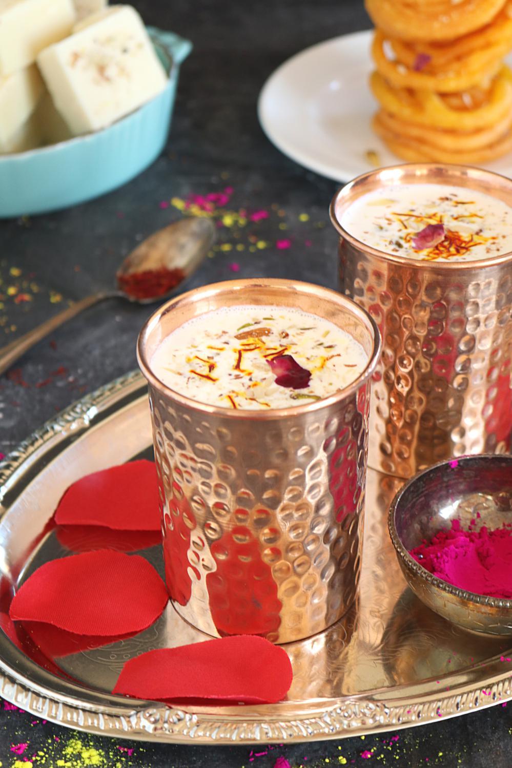 How to make perfect thandai recipe for Holi
