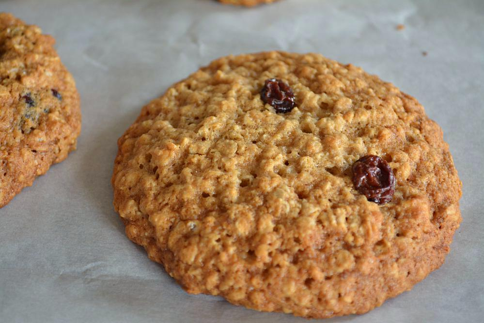 Oatmeal - Raisin Cookies