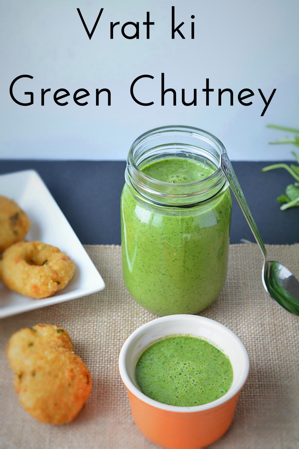 Vrat ki Green Chutney