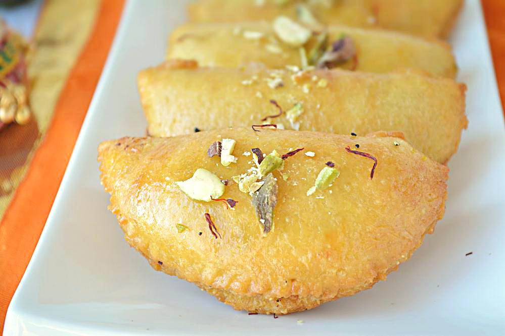 How to make mawa gujiya