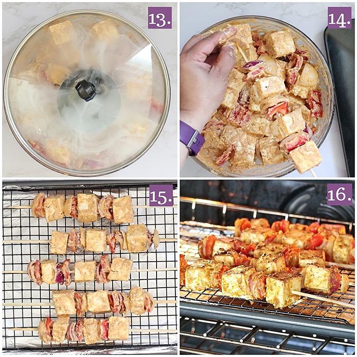 How to cook Achari paneer tikka recipe