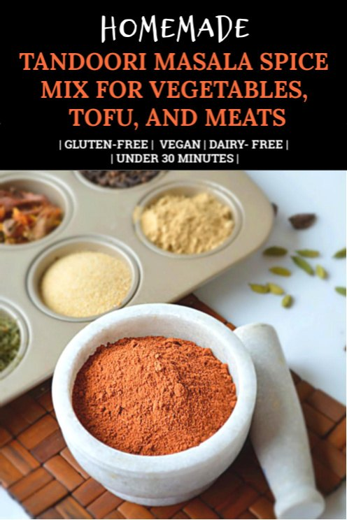 Homemade Tandoori masala pinterest Pin
