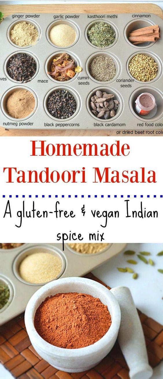 Homemade tandoori masala - Ruchiskitchen