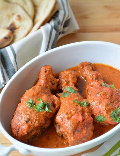 Butter Chicken or Makhani Chicken