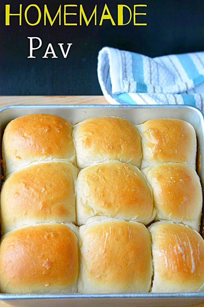 Homemade Ladi Pavs and Buns