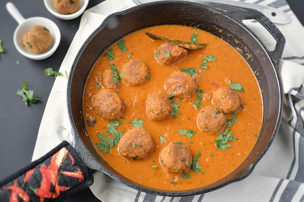 Chicken Keema kofta Curry