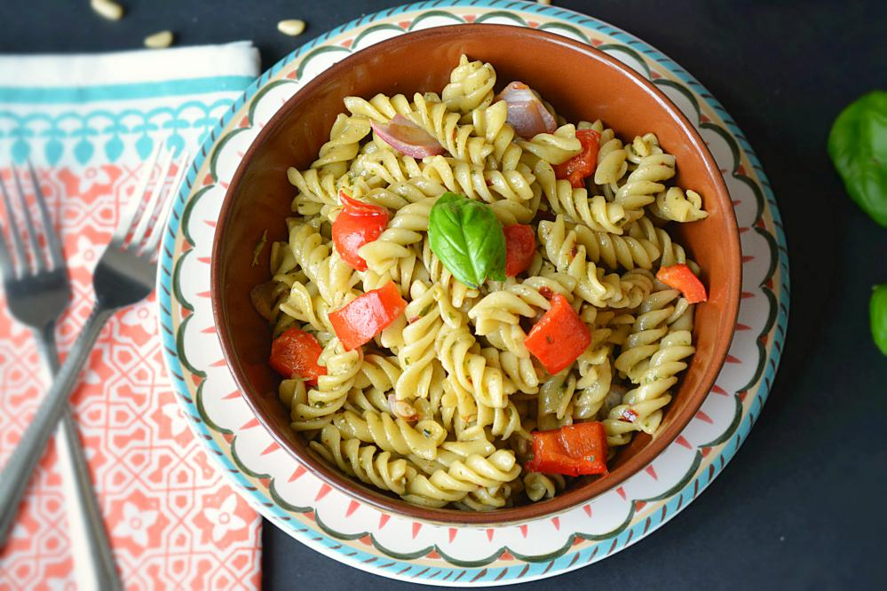 Basil Pesto Pasta Recipe