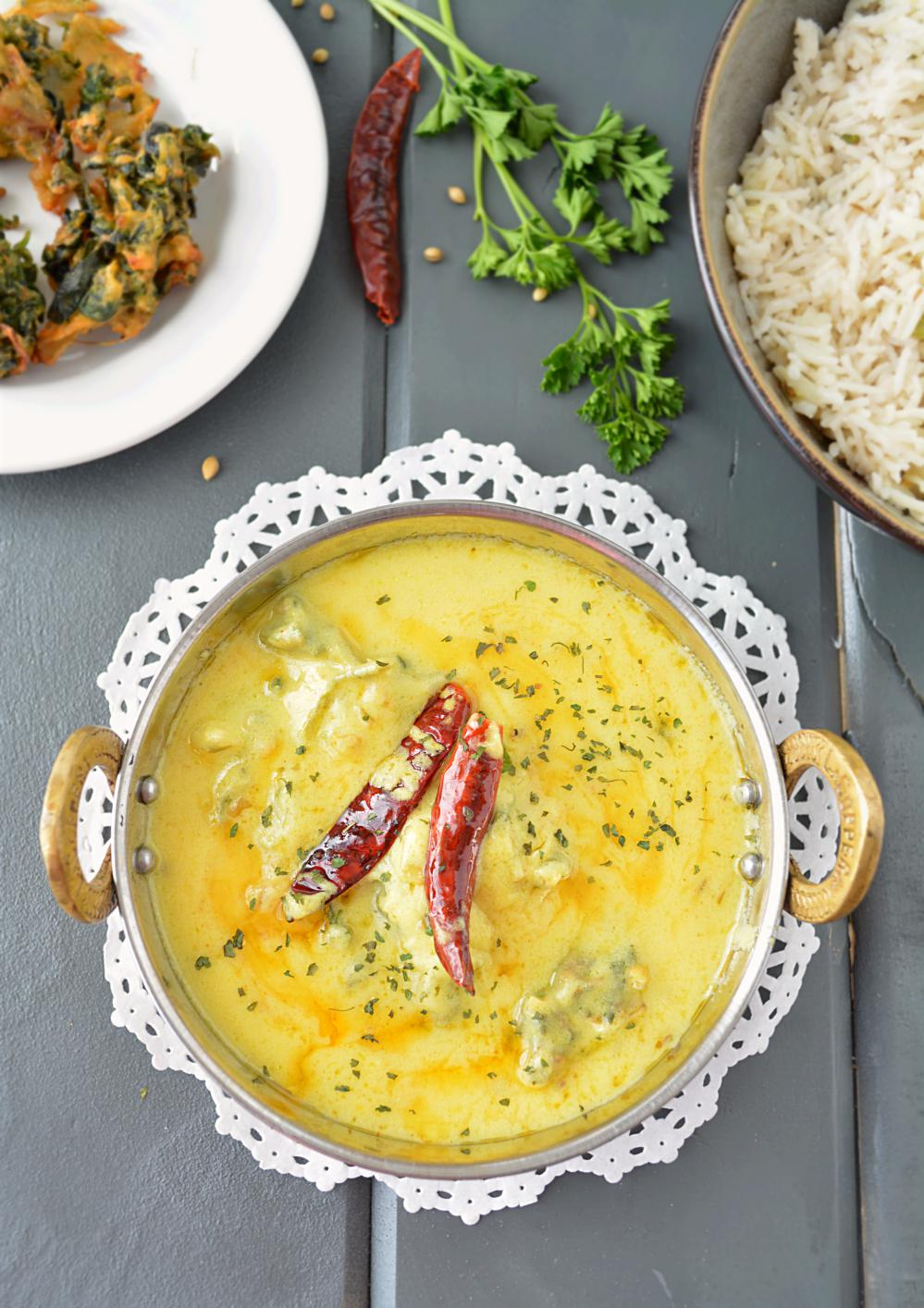 Healthy punjabi kadhi with non fried pakoras forumfinder Image collections