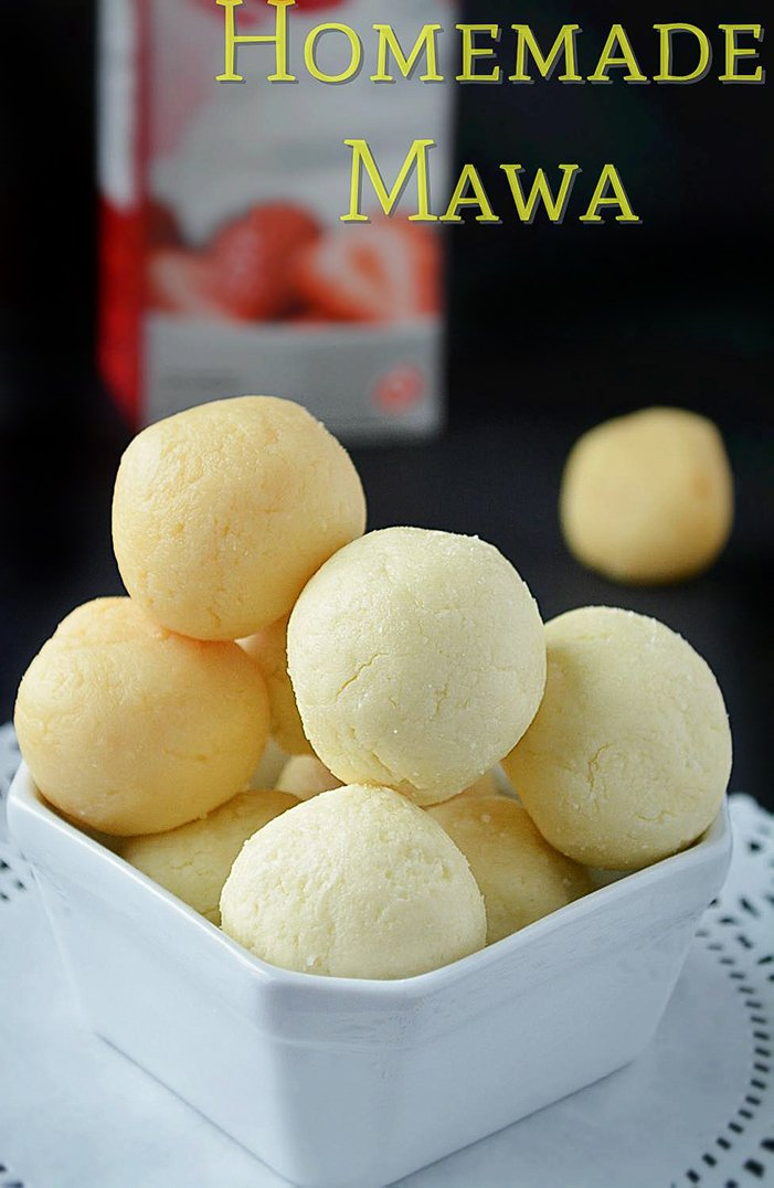 How to make mawa - 5 ways of making mawa
