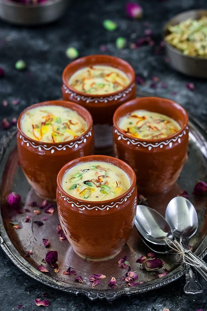 Mango Kulfi in khullad