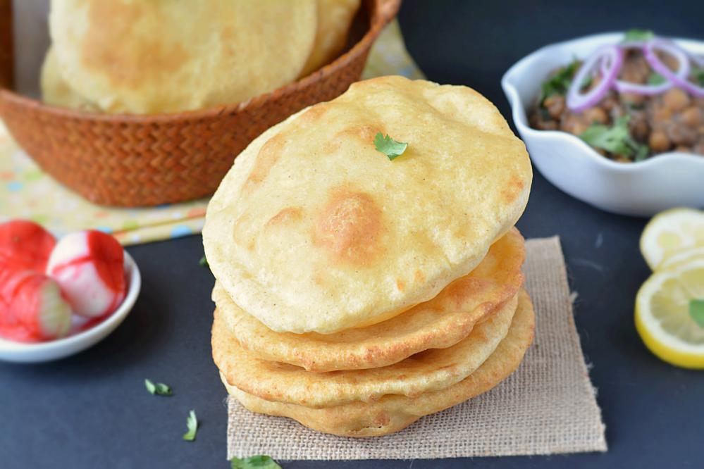 Wheat Bhatura Recipe