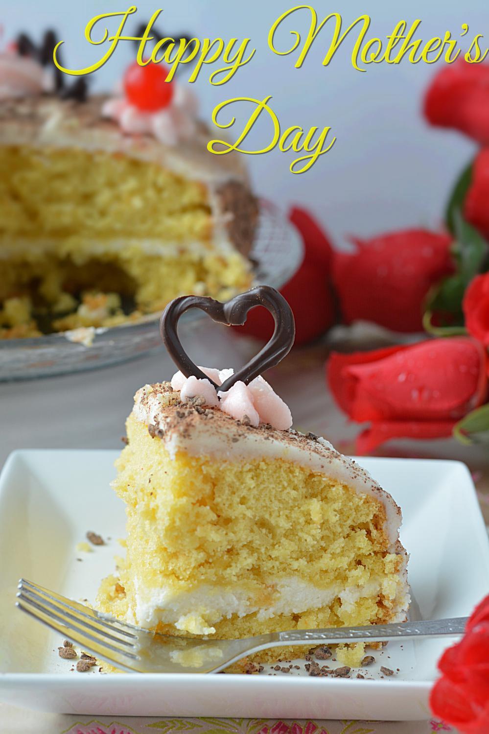 Eggless Cake Using Cake Mix