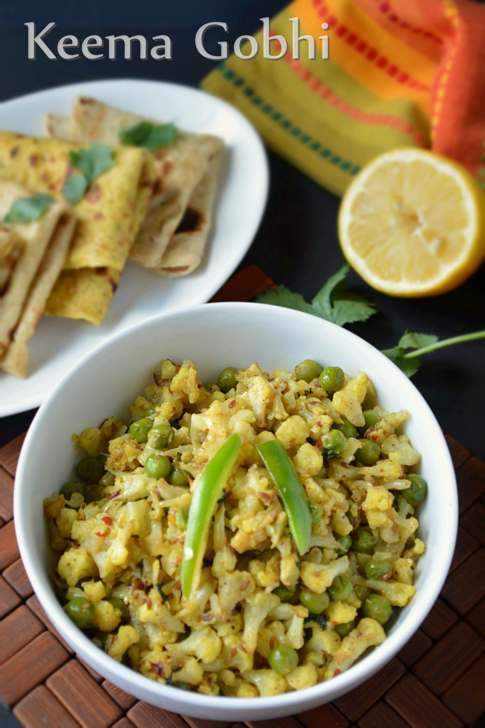 Vegetarian Keema Gobi