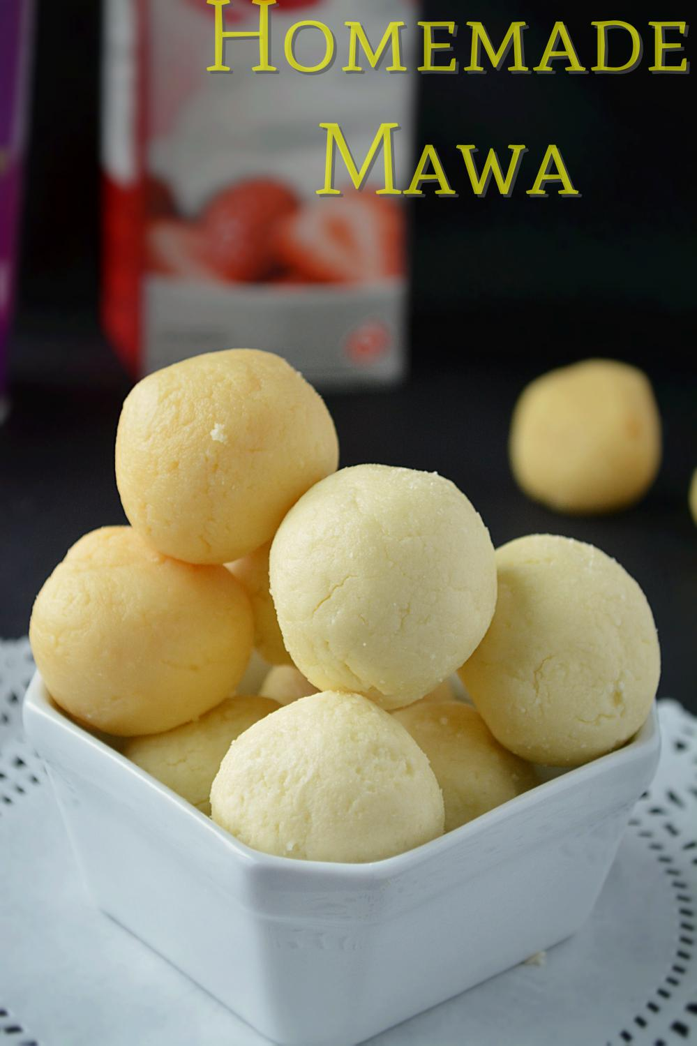 How to make mawa - 5 ways of making mawa image