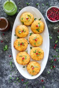 How to make Stuffed Aloo Tikki in a platter- Ruchiskitchen
