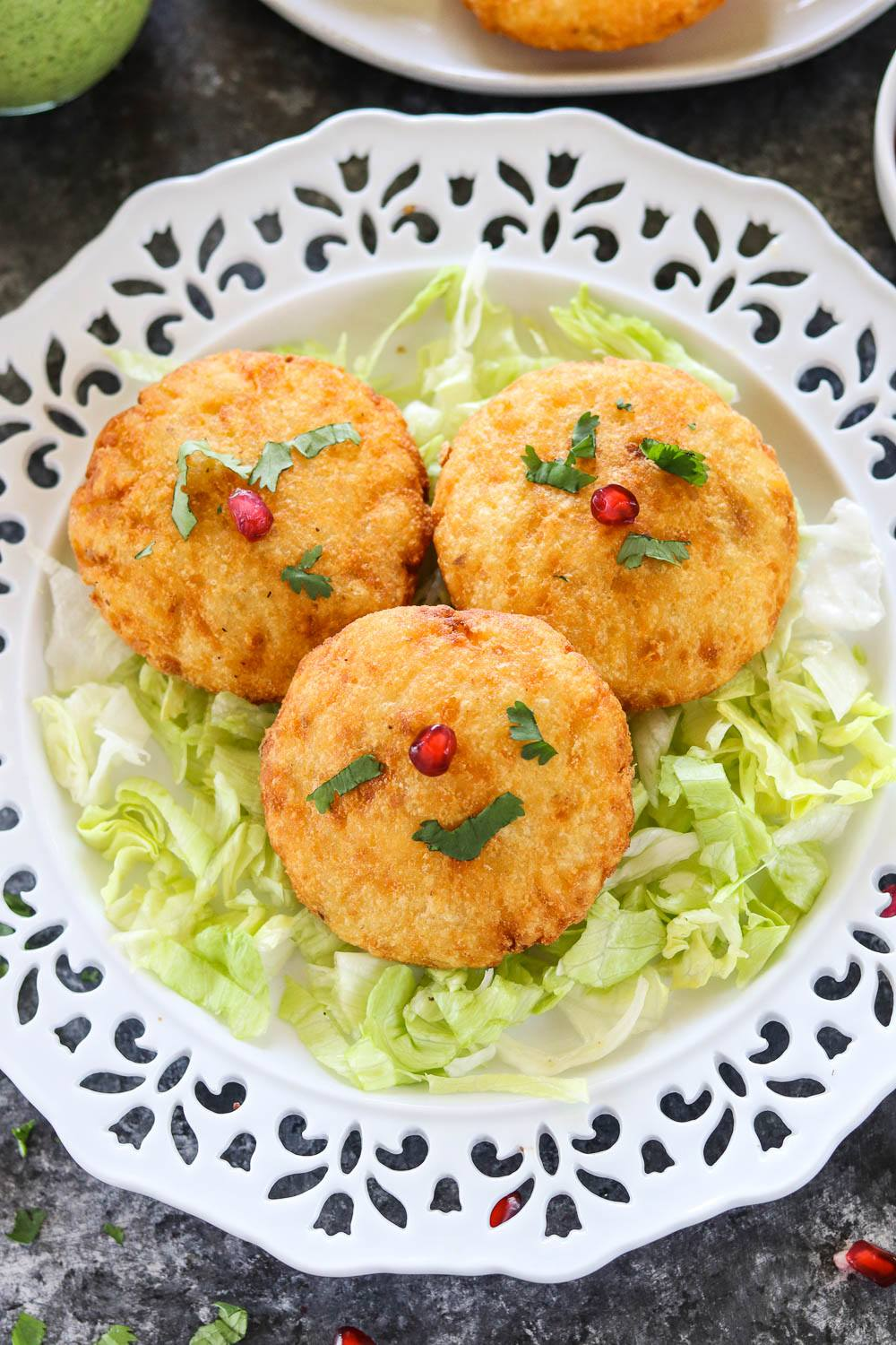 Stuffed Aloo Tikki recipe - Ruchiskitchen