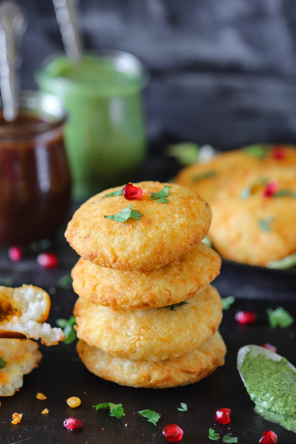 Aloo Tikki Recipe (stacked)