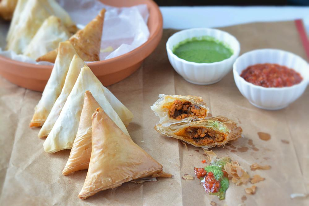 how to cook samosas in oven