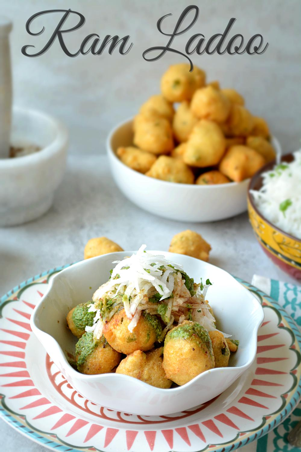Ram Ladoo recipe - Ruchiskitchen