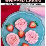 Whipped cream Pinterest Pin
