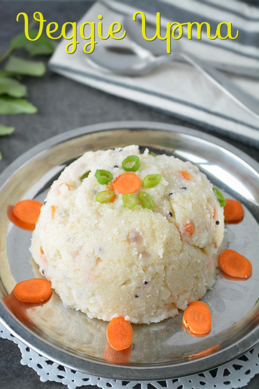 Veggie Rawa Upma