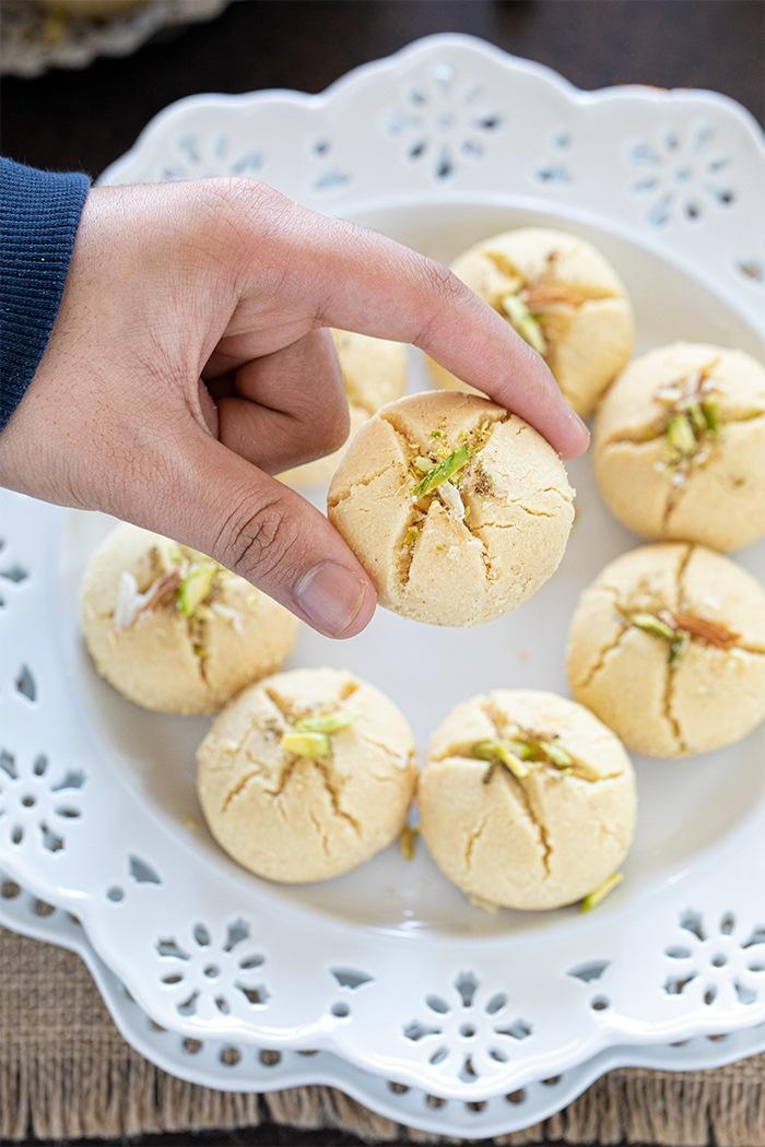 Perfectly baked Nankhatai