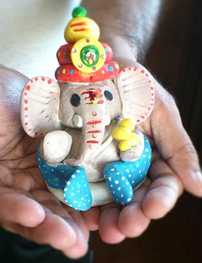 How to make Ganeshji Idol at home for Ganesh Chaturthi