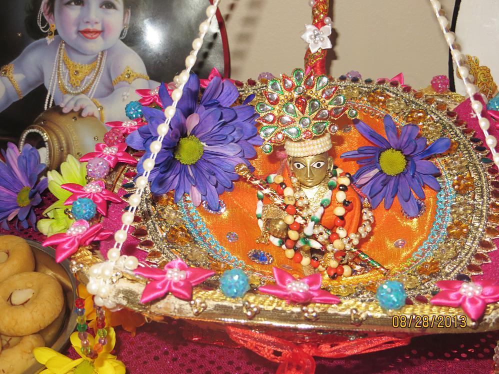 Krishna janmashtami Kanha ka jhula