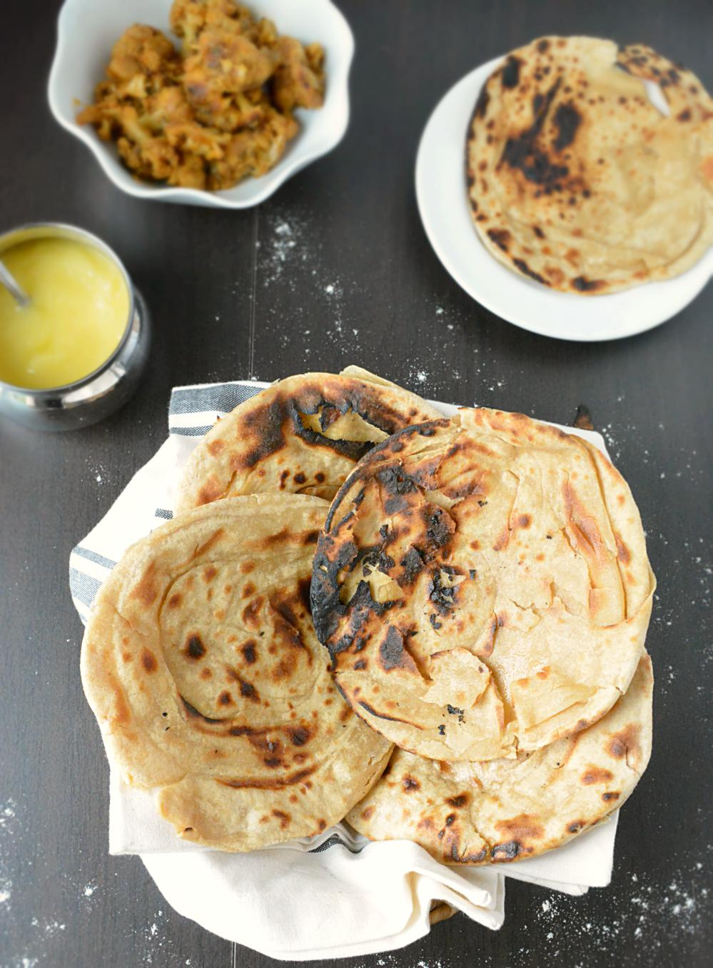 Tandoori Roti Without Oven