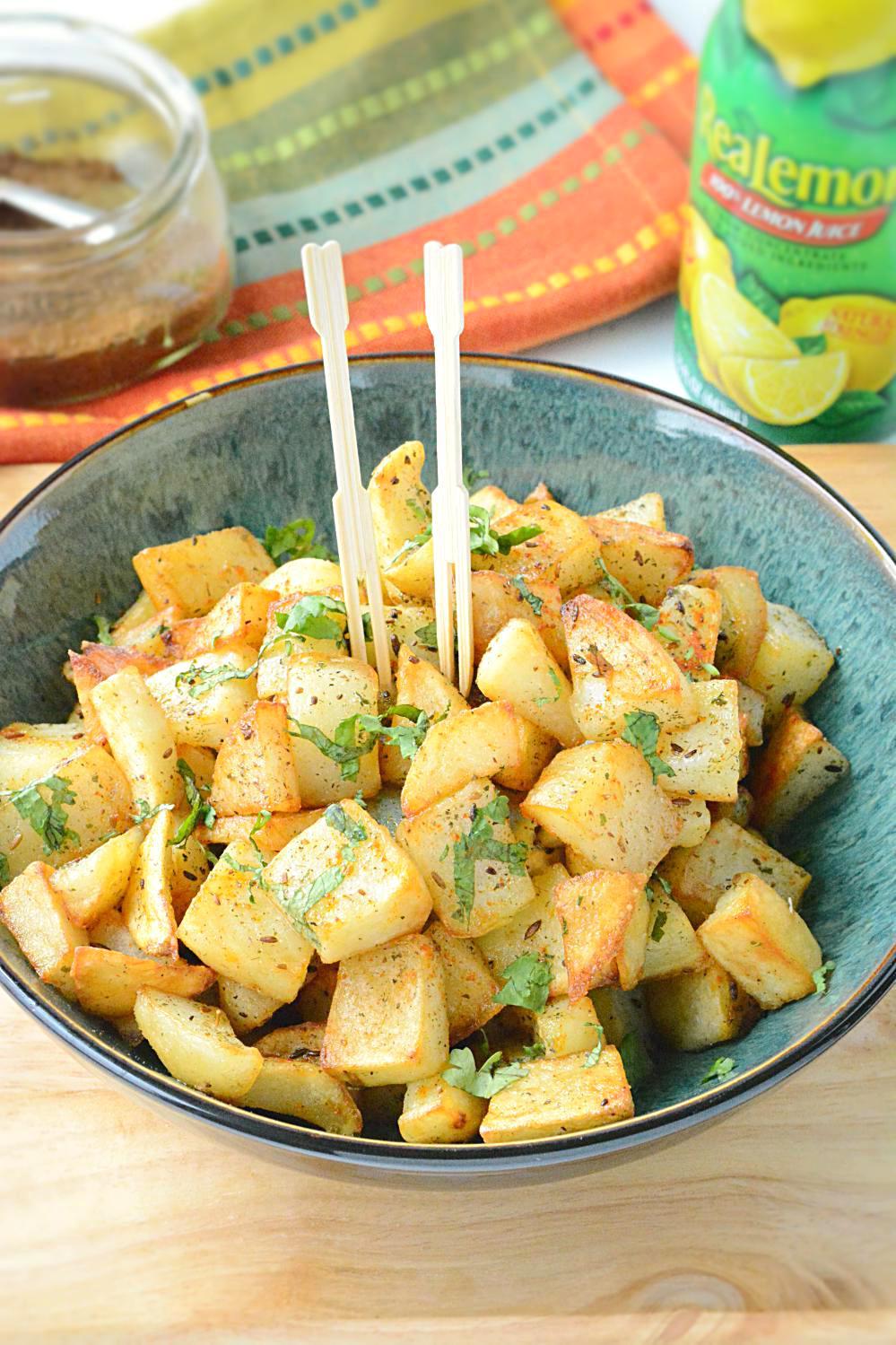 Aloo chaat recipe how to make spicy alu chaat potato chaat recipe