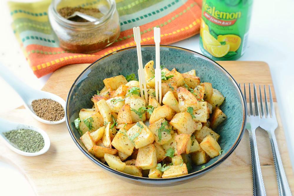 Vrat Aloo Chaat Recipe