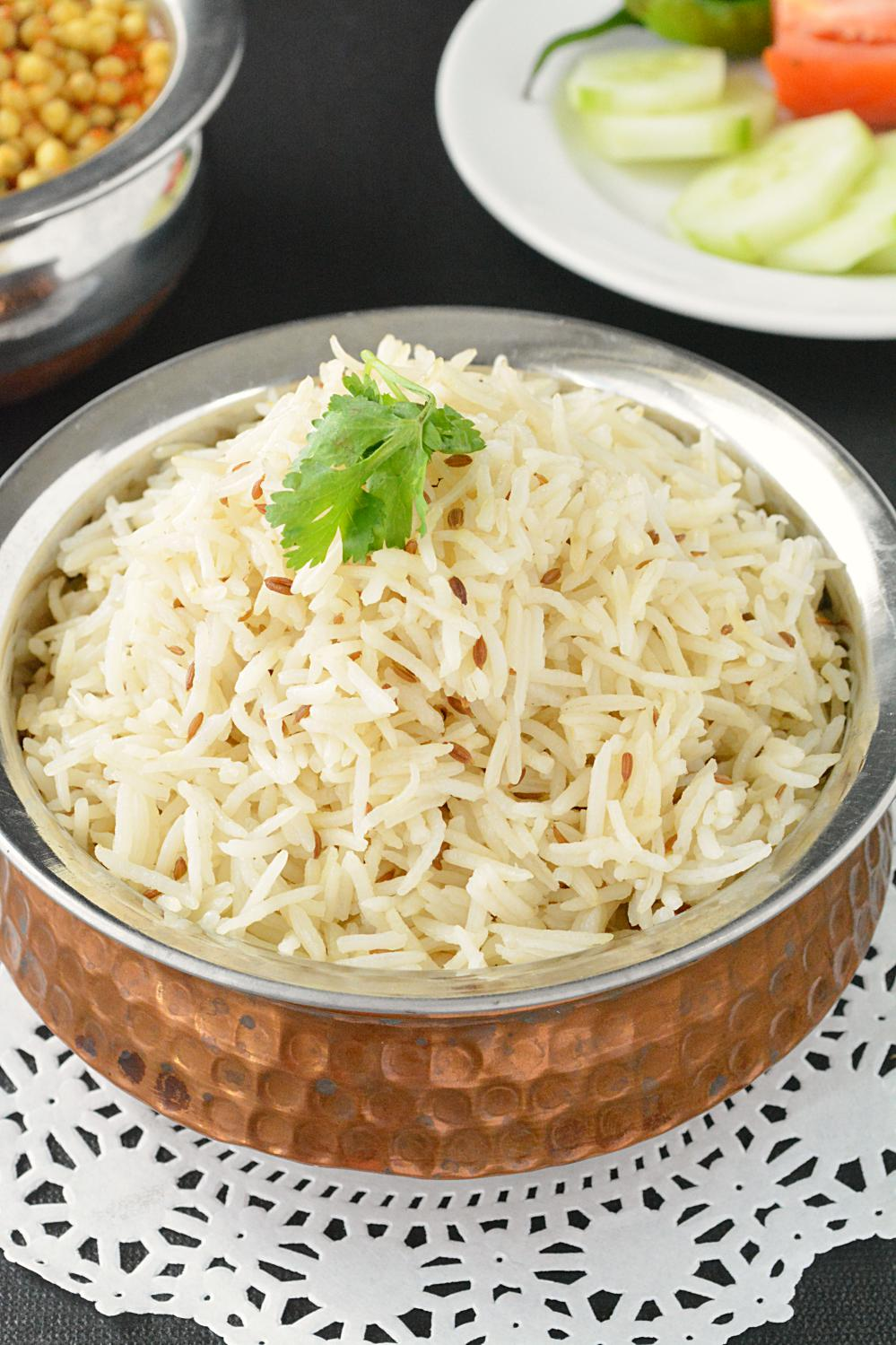 How to cook starch free rice