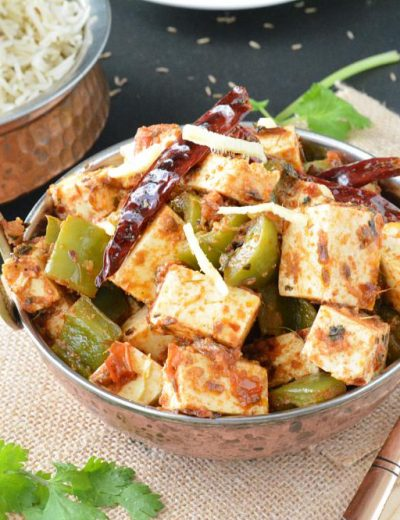 Kadai Paneer no onion no garlic recipe