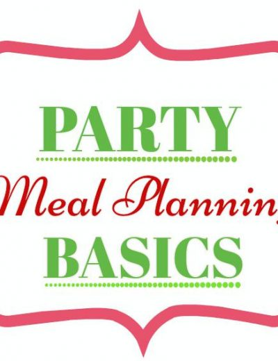 Indian Party Meal Planning Basics