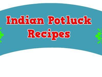 Indian Party Potluck Recipes