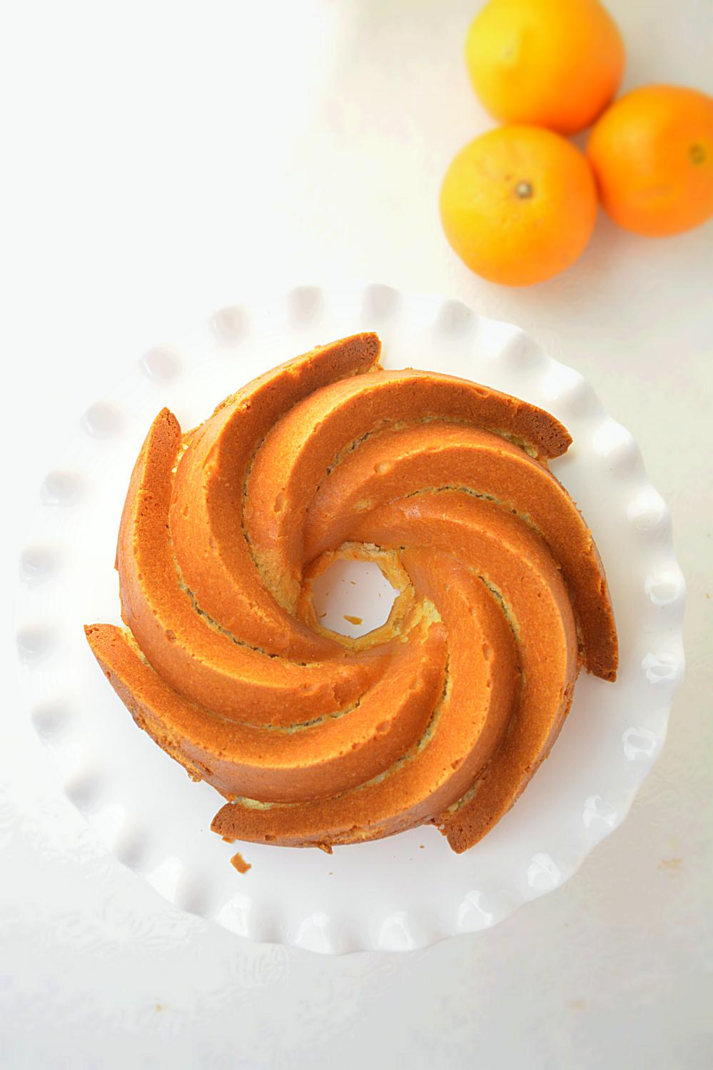BEST Orange Cake Recipe - Ruchiskitchen