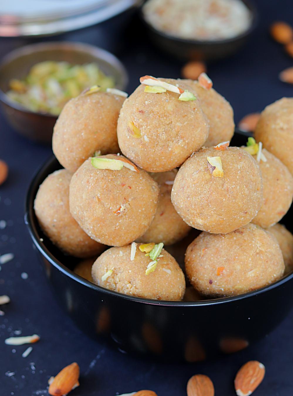 Punjabi Aate ki Pinni- Ruchiskitchen