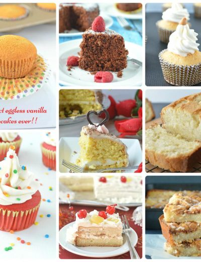 8 eggless cupcakes and cake recipes