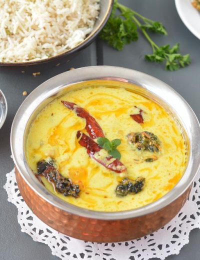 Punjabi kadhi recipe in slow cooker