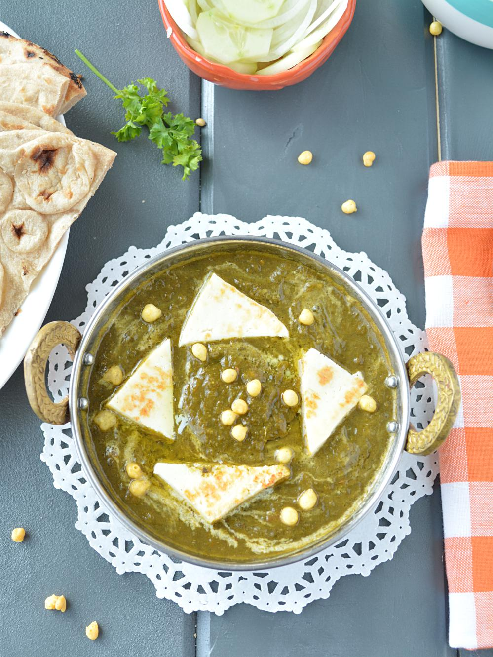 Palak Paneer in slow cooker image